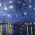 Icon - Starry Night by fmr0