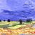 Icon -  Van Gogh Landscape