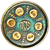 Icon - Passover Seder Plate by fmr0