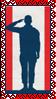 Stamp - Patriotic by fmr0