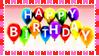 Stamp - Happy Birthday by fmr0