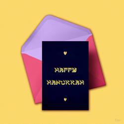 Happy Hanukkah by fmr0