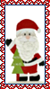 Stamp - Santa and XMas Tree by fmr0