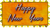 Stamp - Happy New Year by fmr0