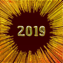 Greeting Card - 2019 by fmr0