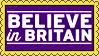 Stamp - Believe in Britain by fmr0