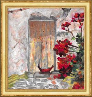 Patio Old Door