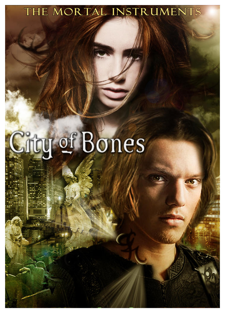 City of Bones Poster by  Jace And Clary City Of Bones Quotes