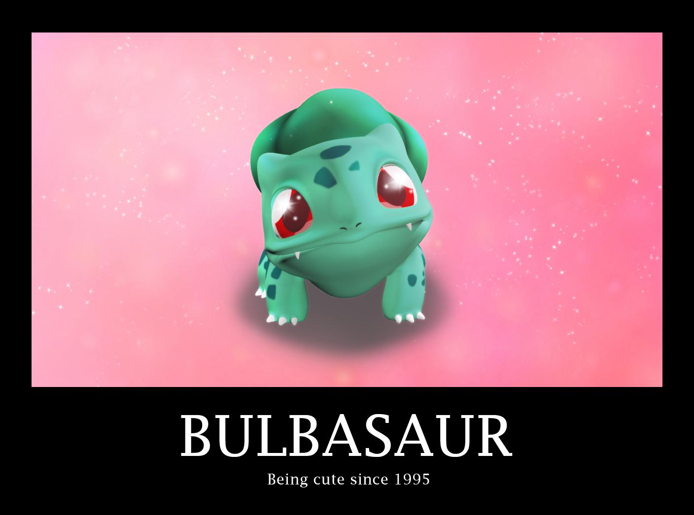 cute pokemon bulbasaur - photo #30