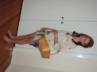 Flower Girl 1 by elgina-2402-stock