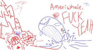 Hetalia - Ameriwhale