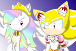 Super Dash and Eternal Sonic