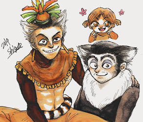 Lemurs by shige13