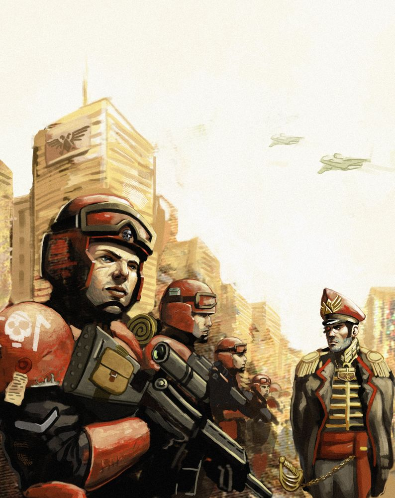 Imperial Guard by Beaver-Skin