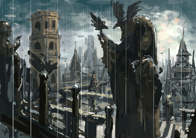 Damned City by Beaver-Skin