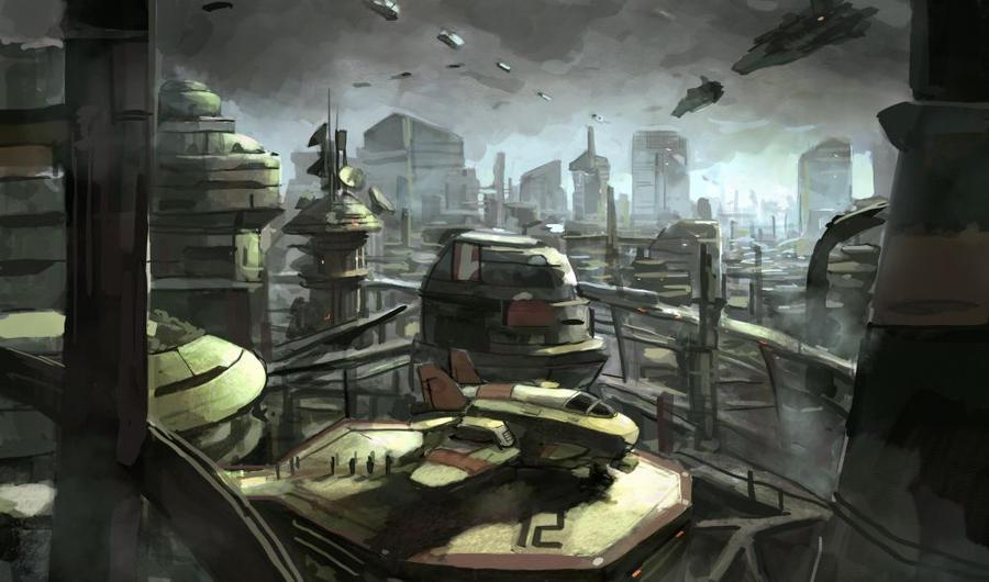 Urban Landscape by Beaver-Skin