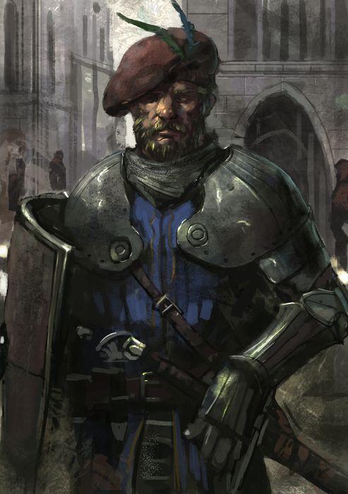 Knight by Beaver-Skin