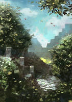 Ruins by Beaver-Skin