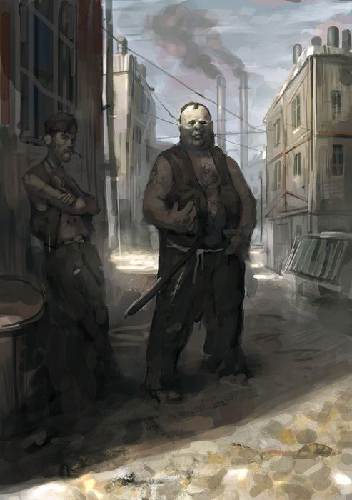 Thugs sketch by Beaver-Skin
