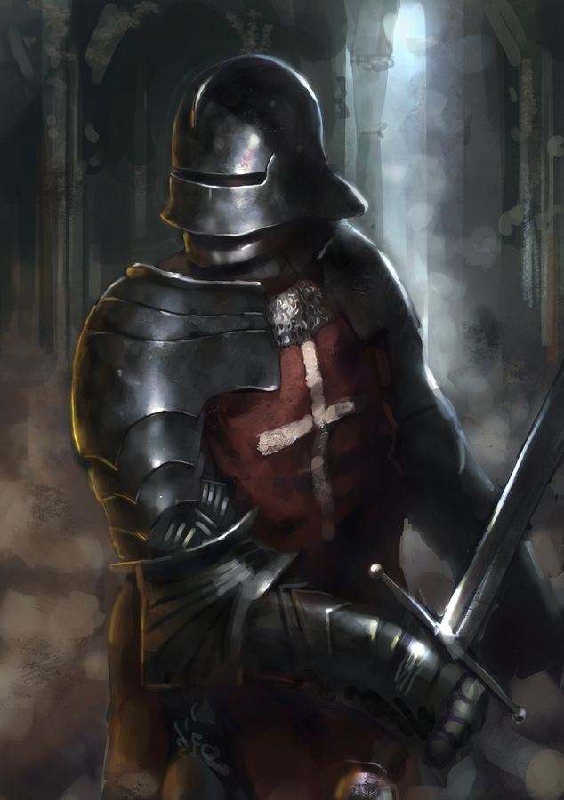Gothic Knight by Beaver-Skin