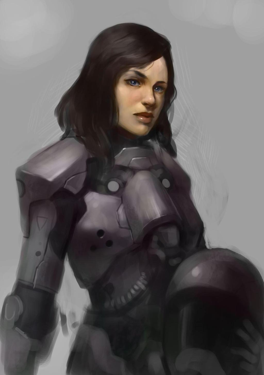 Suitgirl by Beaver-Skin
