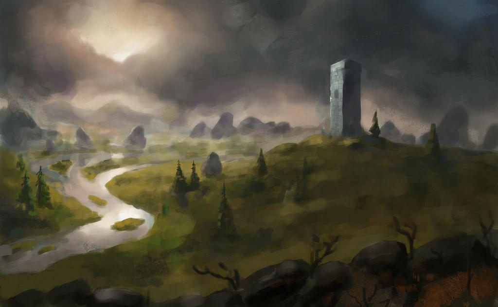 Dark Clouds by Beaver-Skin