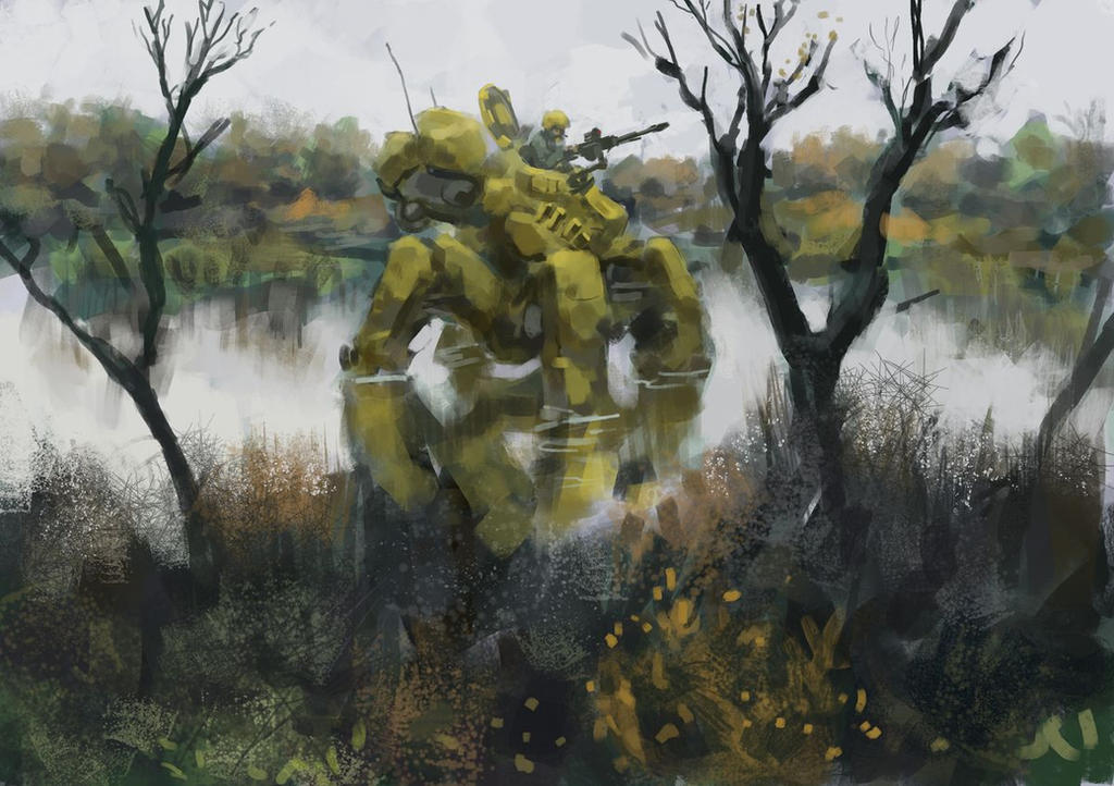 Swamp bot by Beaver-Skin