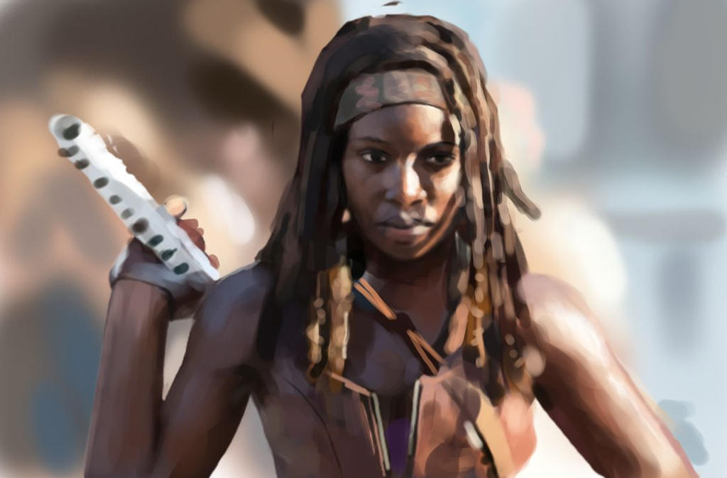 Michonne study by Beaver-Skin