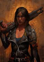 Shotgun Girl by Beaver-Skin