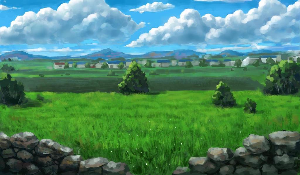 Field by Beaver-Skin