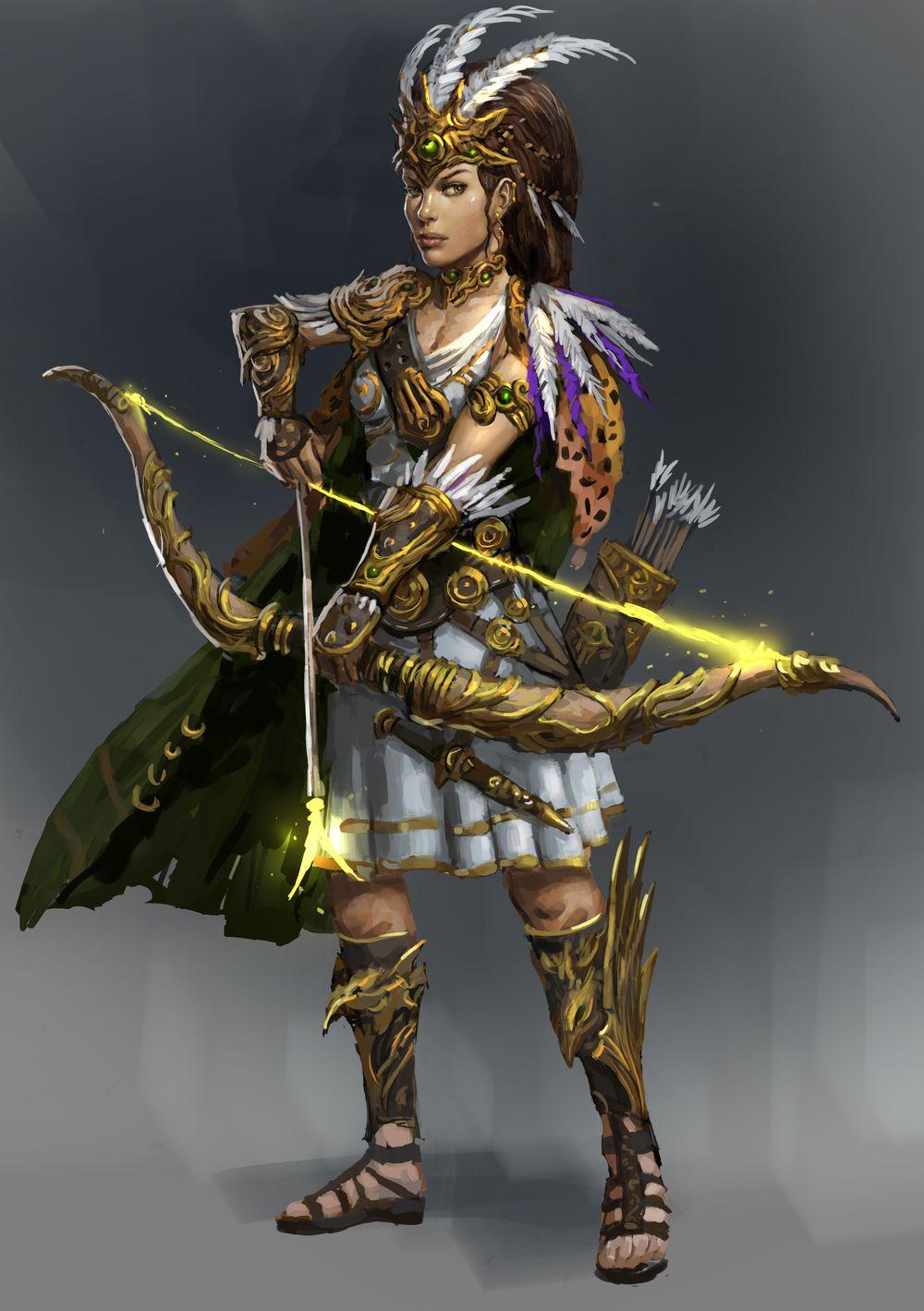 Artemis by Beaver-Skin