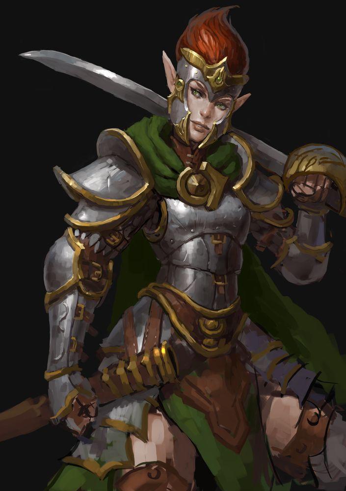 Elf Capt by Beaver-Skin