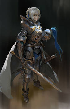 Knight girl comm