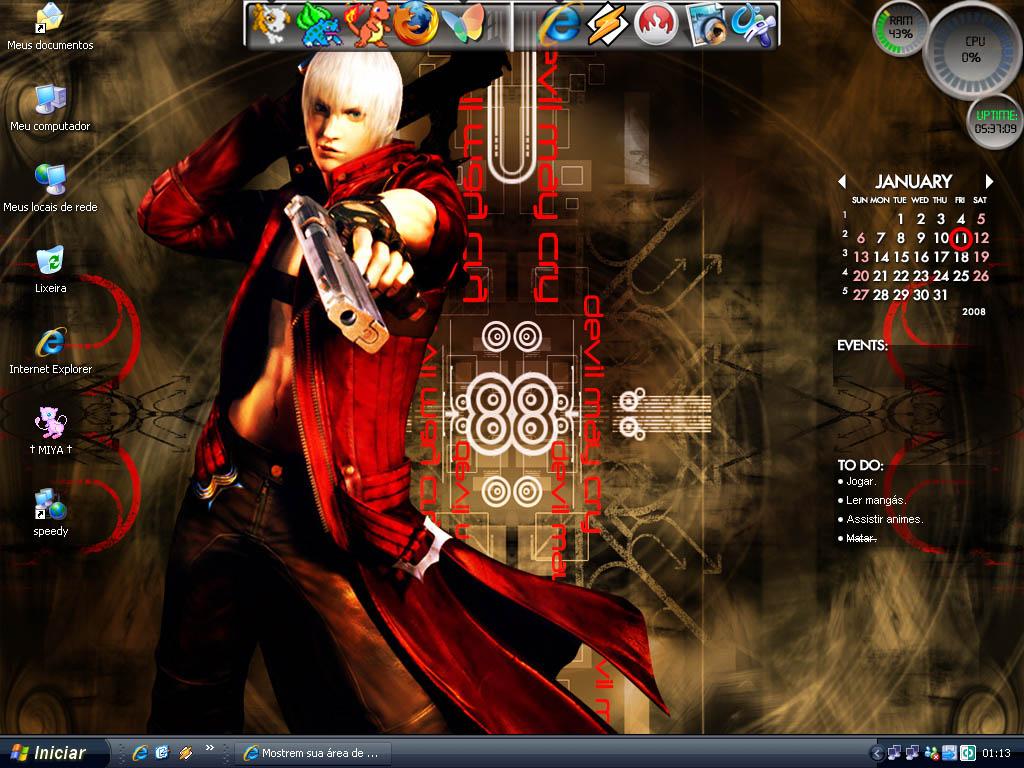 Dante Desktop by tails-miya