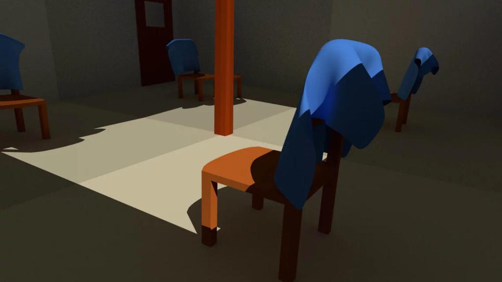 Cloth and chair2 by LouisLithium