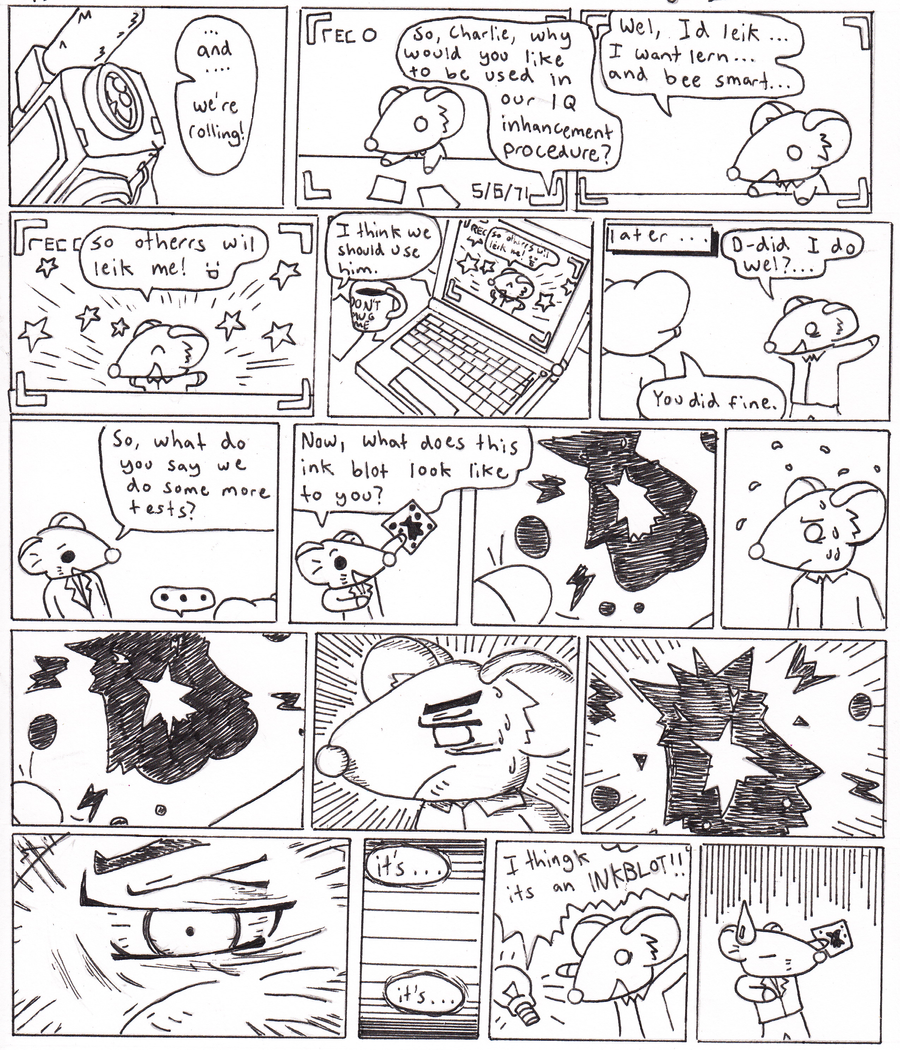 Flowers For Algernon Page 1 By DeadlyComics