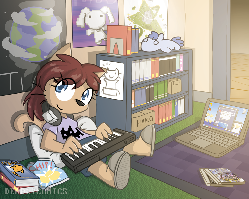 Chill Time by DeadlyComics
