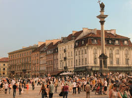 Warsaw's Old Town by Elleonnass
