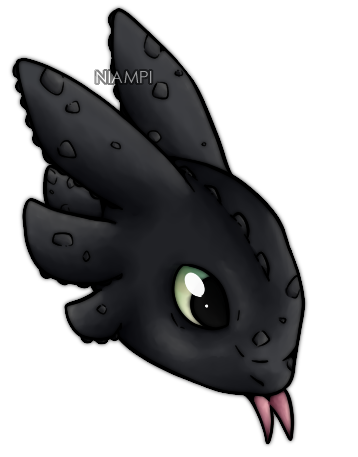 Toothless by Niampi