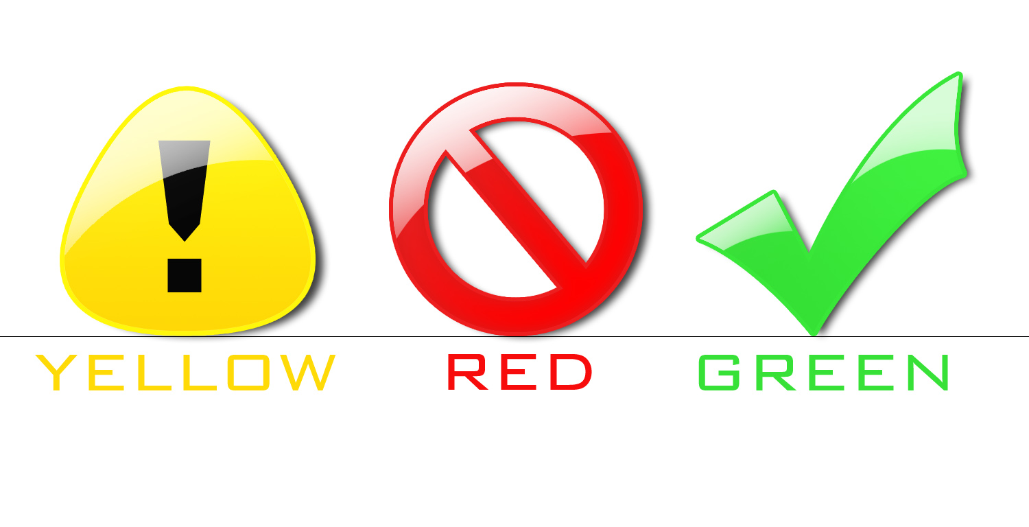 yellow red and green -#main