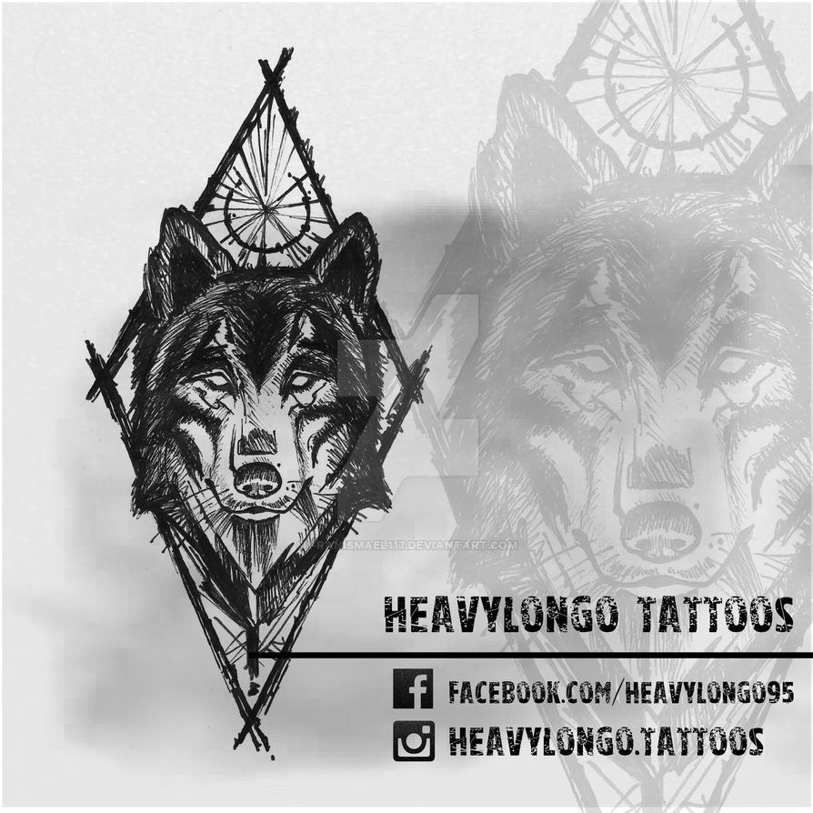 Wolf Tattoo Design By Franismael117 On Deviantart
