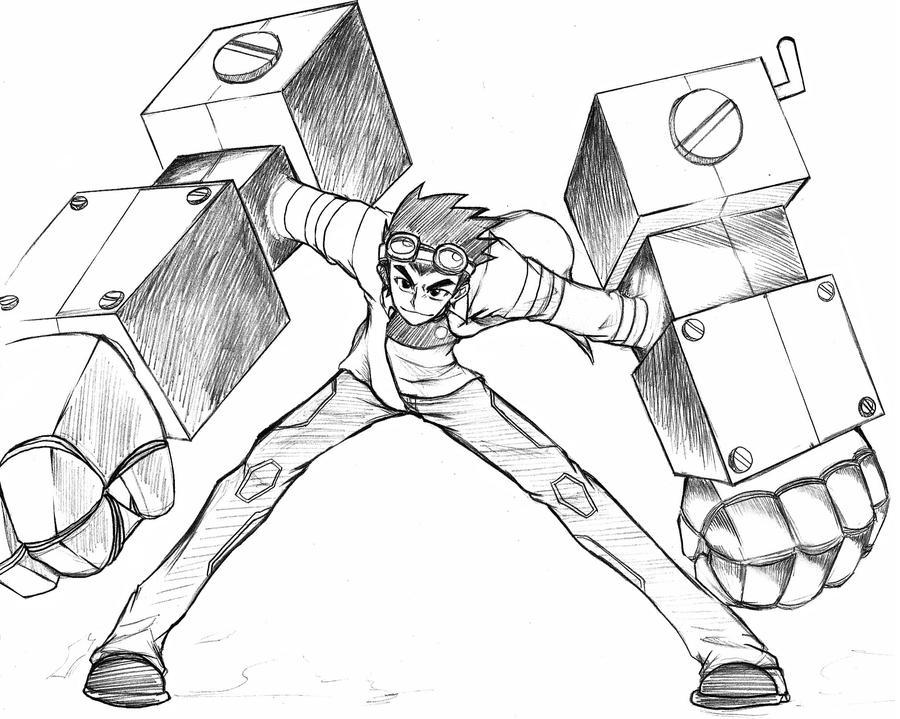 Generator Rex by Liptan