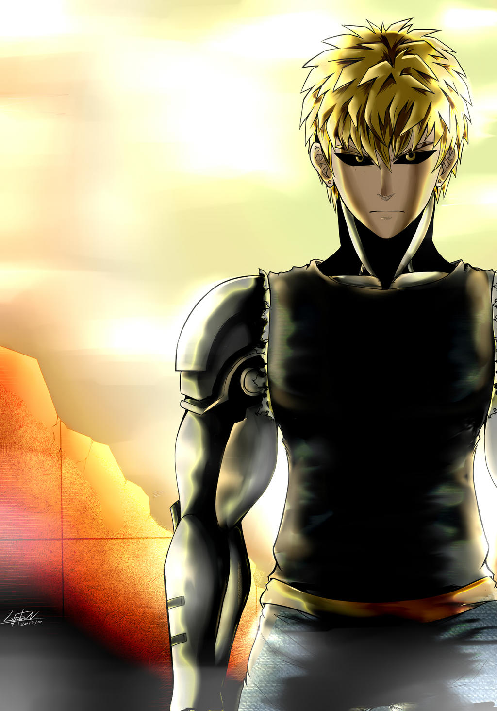 one punch man genos - photo #16