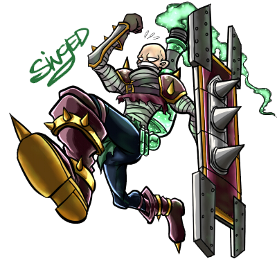 Singed - the Mad Chemist by Liptan