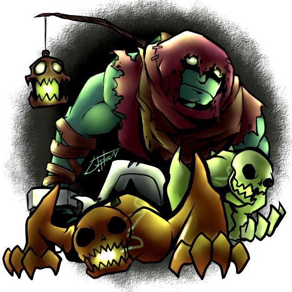 Yorick  the Gravedigger by Liptan