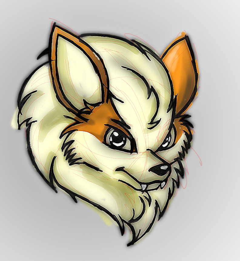 Arcanine quickie by 13th-Zodiac
