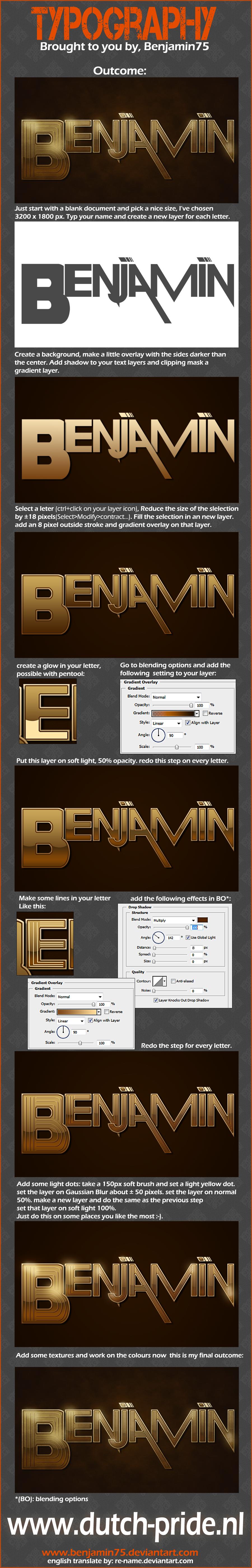 Tut typography by Benjamin75