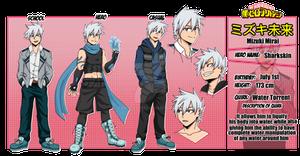 My Hero Academia: Mizuki Mirai OC Reference Sheet