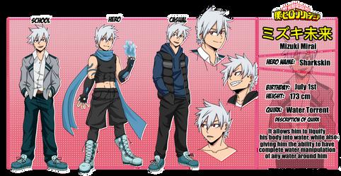 My Hero Academia: Mizuki Mirai OC Reference Sheet by TheNessY21
