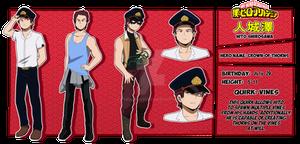 My Hero Academia OC: Hito Shirosawa